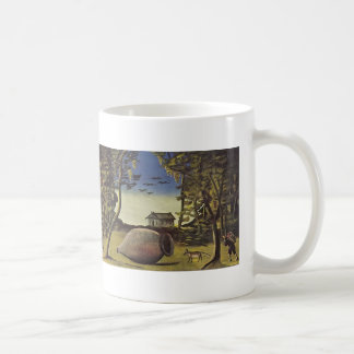 Big Marani in the woods by Niko Pirosmani Mugs