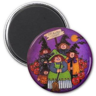 Big Meeting Tonight  Halloween Magnet