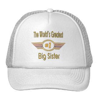 Big, Middle & Little Sister Mesh Hat