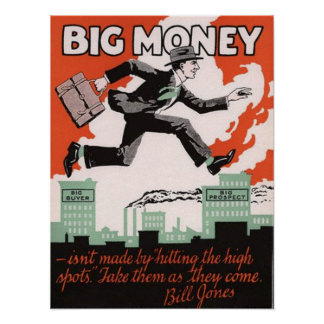 Big Money Poster