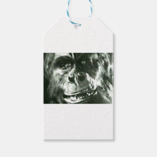 Big Monkey Face Gift Tags