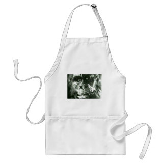Big Monkey Face Standard Apron