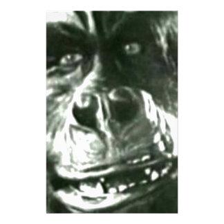 Big Monkey Face Stationery