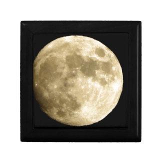 big moon small square gift box
