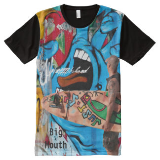 Big Mouth All-Over Print T-Shirt