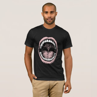 Big Mouth Dark Mens T- Shirt