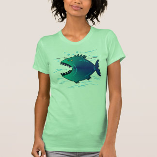BIG MOUTH FISH TEE SHIRTS