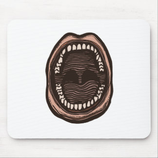 Big Mouth Mouse Pad