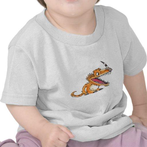 Big-Mouth Orange Monster Shirts