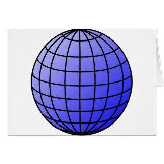 Big Network Globe Card