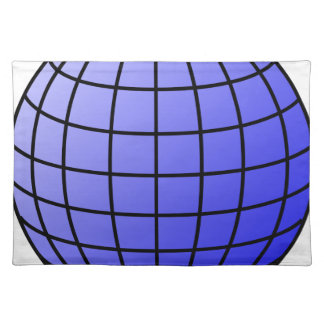 Big Network Globe Placemat