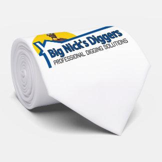 Big Nicks Diggers Official Tie Original Artwork