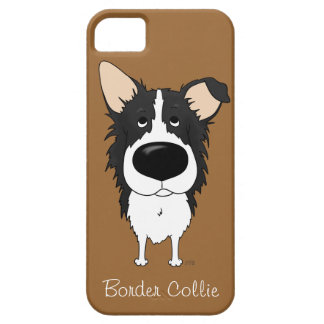Big Nose Border Collie iPhone 5 Cover