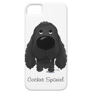 Big Nose Cocker Spaniel iPhone 5 Cover