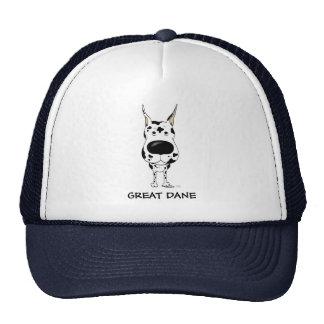 Big Nose Great Dane Mesh Hats