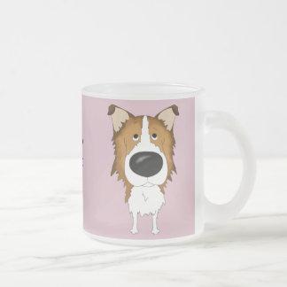 Big Nose Rough Collie Coffee Mug
