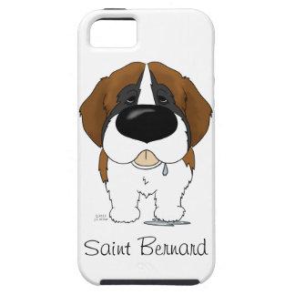 Big Nose Saint Bernard iPhone 5 Case