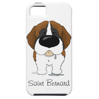 Big Nose Saint Bernard iPhone 5 Covers