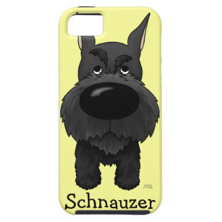 Big Nose Schnauzer iPhone 5 Cover