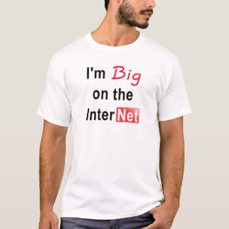 Big on the Internet Tee - YouTube Edition