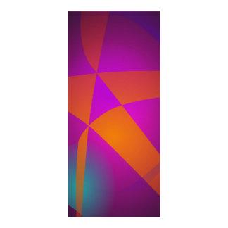 Big Orange Abstract Star Rack Cards