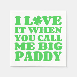 Big Paddy Disposable Napkins