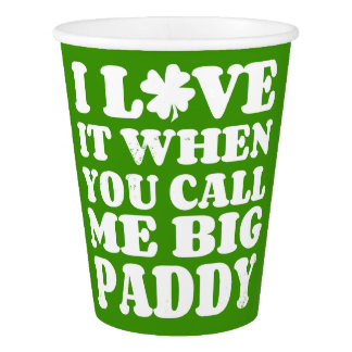 Big Paddy II Paper Cup