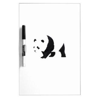 Big panda bear Dry-Erase whiteboards