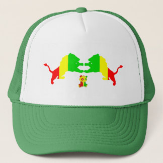 Big Panda Rasta Lions Hat