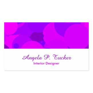 Big Party Girl Business Card Template