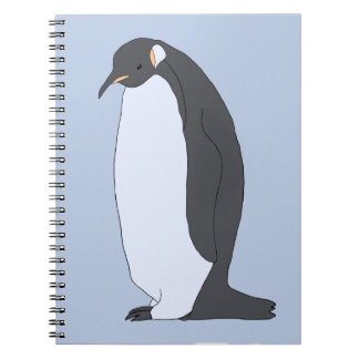 Big Penguin Spiral Notebook
