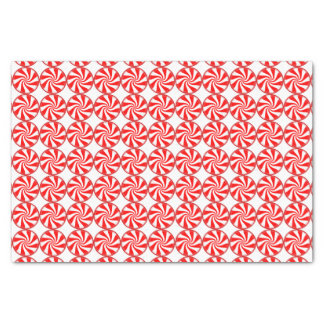 Big Peppermint Candies Christmas Pattern Tissue Paper