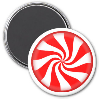 Big Peppermint Candy Magnet