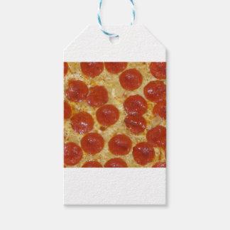 big pepperoni pizza gift tags