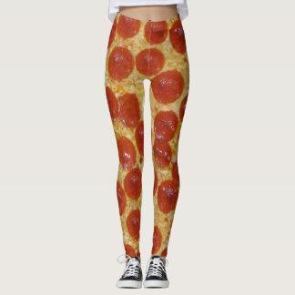 big pepperoni pizza leggings