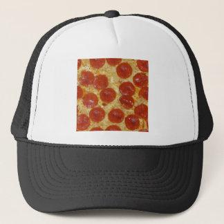big pepperoni pizza trucker hat