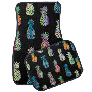 big pineapples pattern car mat