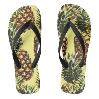 big pineapples thongs