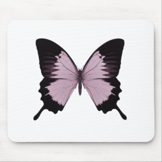 Big Pink & Black Butterfly - Personalize Mousepads