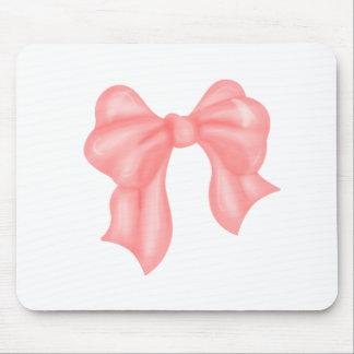 Big Pink Kawaii Bow Mouse Pad