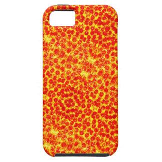 Big Pizza Pattern iPhone 5 Case