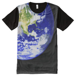 Big Planet Earth All-Over Print T-Shirt