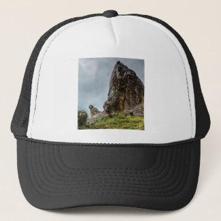 big point little point trucker hat
