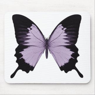 Big Purple & Black Butterfly Mousepad