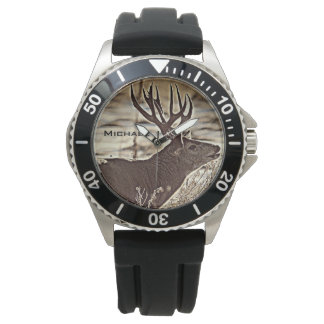 Big Rack Whitetail Buck Watch