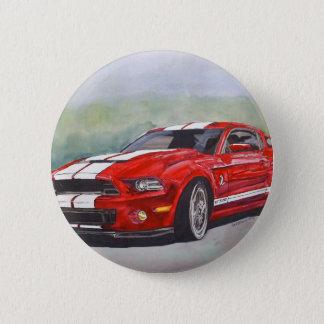 Big Red 6 Cm Round Badge