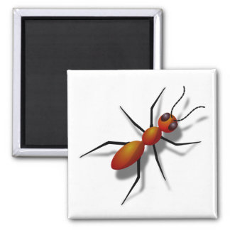 Big Red Ant Magnet
