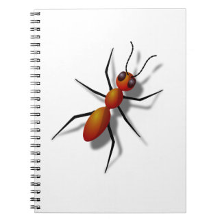 Big Red Ant Notebook