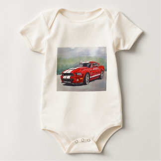 Big Red Baby Bodysuit