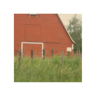 Big Red Barn Wood Canvases